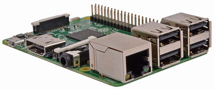 Raspberry Pi 3 Model B - Image: RS Components