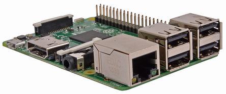 Raspberry Pi 3 Model B - Image: RS Components