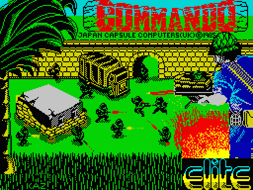Commando - Loading Screen - ZX Spectrum