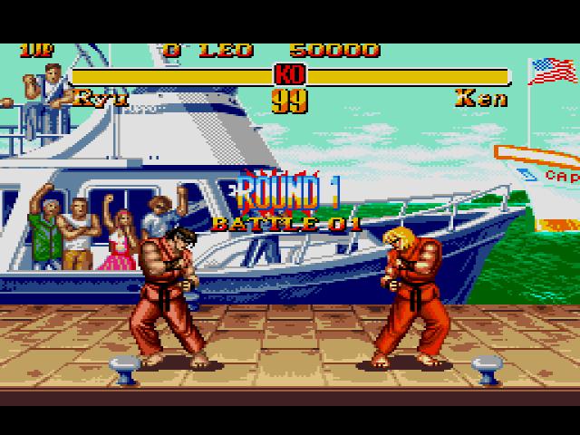 Street Fighter II: Special Championship Edition – Sega