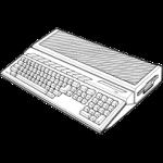 Atari ST Line Art Icon