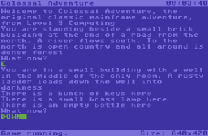 Colossal Cave Adventure - C64
