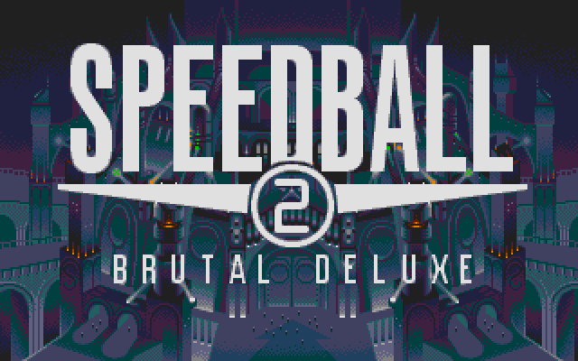 Speedball 2: Brutal Deluxe - Atari ST - Title Screen