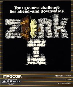 Zork I Box Art - Atari ST