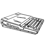 ZX81 Line Art Icon