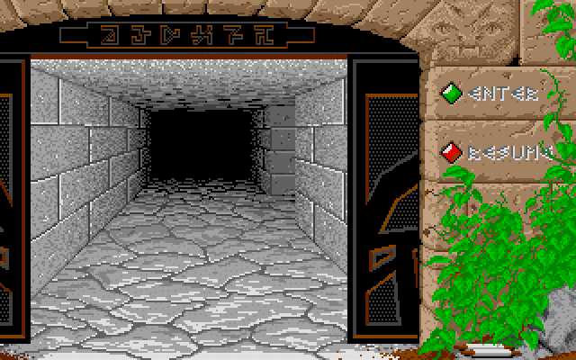Dungeon Master - Atari ST - Entrance