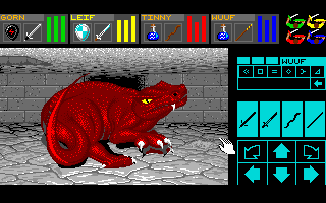 Dungeon Master - Atari ST - Dragon