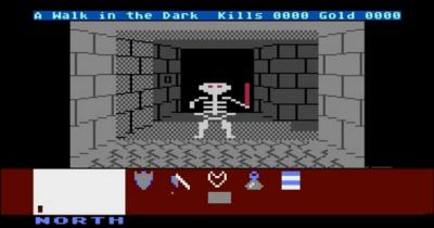 Dungeon Master clone - Atari 8-bit style