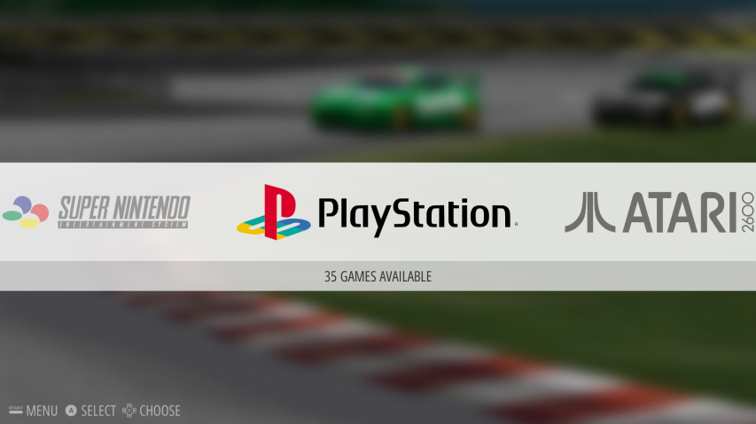 Emulation Station - Main Menu - PlayStation Focused