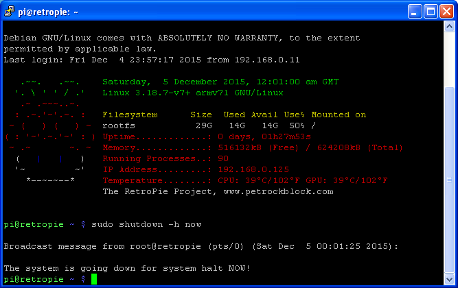 Don't Fear The Command Line: Raspbian Linux Shell Commands and Tools