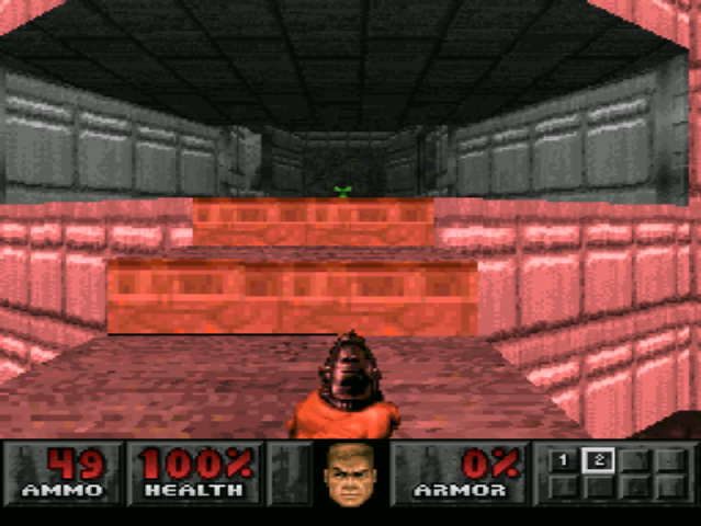 PlayStation. Doom. Standard Resolution
