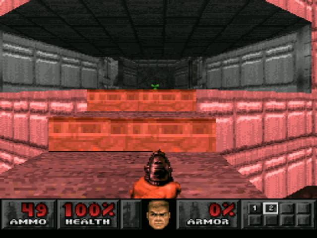 PlayStation. Doom. Standard Resolution