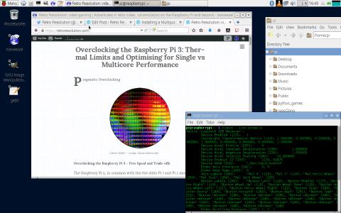 Raspbian Desktop GUI