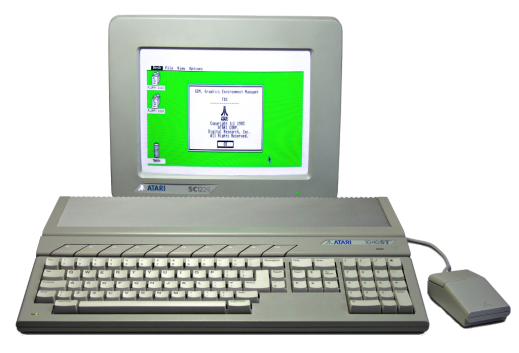 Atari ST with Monitor