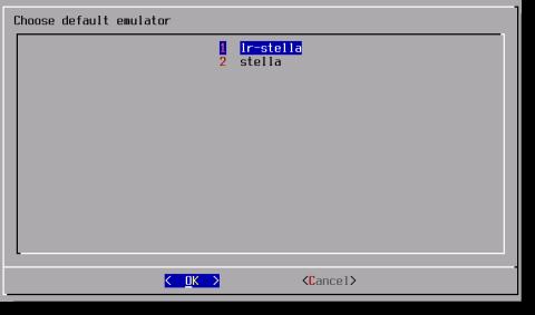 RetroPie Runcommand Menu - Choose Default Emulator - Default